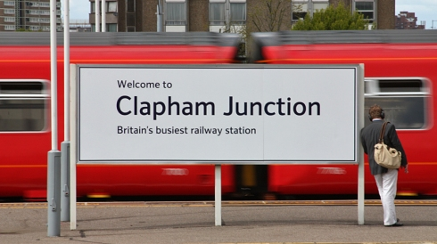 Busiest Station Clapham Junction