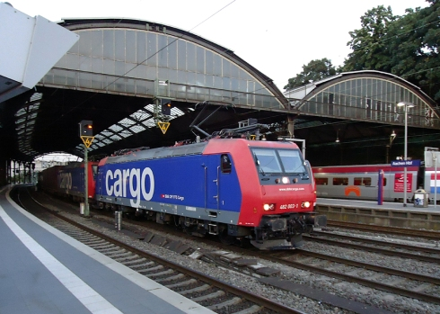 Aachen Hbf - SBB Cargo