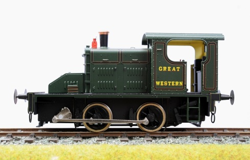 Ixion Fowler 2EP GWR profile left