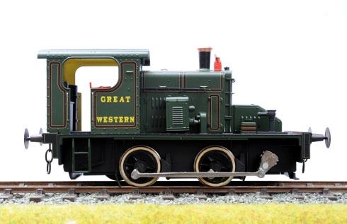 Ixion Fowler 2EP GWR profile right