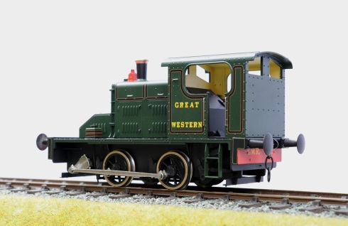 Ixion Fowler 2EP GWR rear